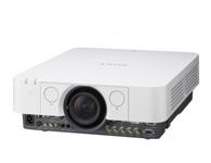 索尼VPL-F500X  投影尺寸:40-600英寸  屏幕比例:4:3  投影技术:3LCD  投影机特性:互动  亮度 5000流明  对比度:2000:1  标准分辨率:XGA(1024*768)