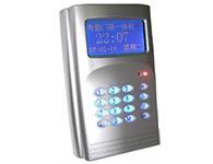顺通ST628PT  IC卡消费机配套考勤门禁机?中英文双语菜单界面,蓝色背光可显示刷卡人姓名、工号、部门与职务。 ?有公共短消息、固定标题和远程强制开关门短消息发布功能。 ?可设定8个闹钟报闹点,闹铃支持工作日选择。