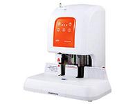 盆景B100装订能力1-50mm,激光定位,钻刀6.0*50mm, 铆管直径5.2mm,预热时间2-4分钟,自动切管,工作面板480*220mm ,机器尺寸480*375*518mm