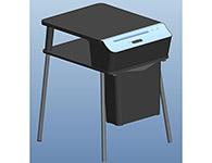盆景TP200(黑色)入纸口尺寸:220mm;碎纸张数:5张(70g/m2A4);碎纸尺寸:4x20mm,保密等级:4级(依据德国碎纸标准DIN66399);机器噪音:≤58DB,垃圾桶容积:21升;切碎介质:纸、订书针;