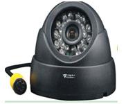 銳視保RSB-1101-音頻塑料海螺半球攝像機 芯片采用1/3高清晰A級CCD芯片,無亮點/死點,色彩鮮艷逼真 800線低照度 (內置拾音器)1 Lux(F:2.0),0 Lux with buit-in LR LED 20米(24個紅外燈)鏡頭采用韓國廣角鏡頭,清晰度高,可視角度110度,長時間工作不會出現換面模糊情況。標配鏡頭:3.6MM,視頻接口:航空接頭