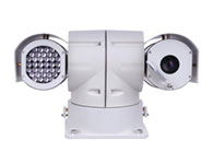 銳視保RSB-8130WL網絡車載云臺 功能特性: 高強度合金鋁整體壓鑄外殼 ,內部全金屬架構, 抗沖擊、防腐蝕,防護等級達到IP66,功耗小、不易發熱、使用壽命長、輻射距離遠,紅外夜視距離可達100-200米(視機芯情況而定)適用于需要在夜間、惡劣環境、遠距離、大范圍實時監控的場合。