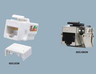 韓電線纜 超五類RJ45插座模式