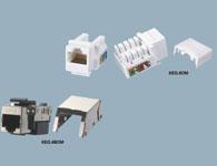 韓電線纜 六類RJ45插座模塊