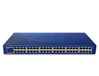 腾达 TEH1048 48口百兆以太网交换机1、支持平行/交叉线自动识别(Auto MDI/MDIX)功能 2、支持IEEE802.3x全双工流控,半双工背压(Backpressure)流控 3、集成8K MAC地址表,充分满足各种应用的需求