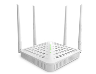 腾达 F1202 1200M 11AC双频无线路由器  1、极速无线:采用最新的802.11ac WiFi 技术,比传统802.11n速度快3倍, 为无线终端设备提供极致的速度体验;2、双频技术:支持2.4GHz / 5GHz两频,速度高达1200Mbps(300Mbps+900Mbps),提供更为流畅、互不干扰的无线环境;3、超广覆盖: 4根5dbi高增益天线设计,提供极致的无线覆盖范围,满足跃层、别墅等大户型的无线覆盖需求