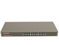 IP-COM G1024G   24口千兆防雷专用机架型交换机,采用BCM最先进的高集成度芯片,铁壳19寸机架式