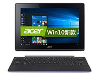 宏碁(acer)SW3-013 10.1英寸变形触控笔记本(四核Z3735F 2G 64G eMMC win10 IPS屏 蓝牙)紫色