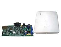 控制主机  支持23系列全部主机 提供备用电池供电,并支持电池电量自检 安装简便,具备防拆功能 支持GPRS无线网络,采用AES-128 Bit加密,通信更安全