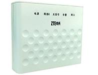 中兴 ZXA10 F601 GPON ONU  是一款提供单路数据接入能力的GPON ONU终端,能同时提供给用户1个10/100/1000M网口,为用户提供高速的数据服务和优质的视频服务,通过OMCI实现远程业务发放、故障诊断和性能统计