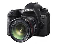 佳能 EOS 6D(24-70 2.8) 单反相机画幅:全画幅  分类:高端  套头:单镜头套机  像素:2000-2999万