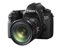 佳能 EOS 6D(24-70F4) 单反相机画幅:全画幅 像素:2000-2999万 套头:单镜头套机