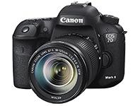 佳能 EOS 7D Mark II(18-135) 单反相机画幅:APS-C画幅  分类:高端  套头:单镜头套机   像素:2000-2999万