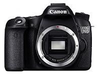 佳能 EOS 70D 单反相机画幅:APS-C画幅  分类:中端  像素:2000-2999万