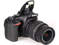 尼康D5500(18-55)单反相机传感器:APS画幅  有效像素:2416万  有效像素:2416万