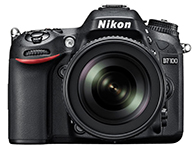 尼康D7100(18-200)单反相机画幅APS画幅  有效像素 2410万像素