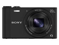 索尼 DSC-WX350 数码相机    传感器:1/2.3英寸;有效像素:1820万;显示屏尺寸:3英寸;显示屏像素:46万像素液晶屏;连拍速度:支持(10fps);快门速度:智能自动:4-/1600秒;程序自动:1-1/1600秒;电池类型:锂电池(NP-BX1);续航能力:约470张照片或3小时55分钟视频(根据CIPA标准)