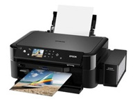 爱普生L850    产品类型:墨仓式多功能一体机;涵盖功能:打印/复印/扫描;最大处理幅面:A4;耗材类型:分体式墨盒;黑白打印速度:约37ppm(经济模式);打印分辨率:5760×1440dpi;网络功能:不支持网络打印;双面功能:手动;