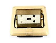 環球電工-彈起式-多功能五孔電源-地插-全銅