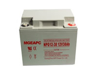 蓄电池-耐普12V38AH