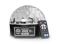 最新9色LED魔球灯-声控酒吧ktv激光灯-演出舞台灯光-闪光灯吸顶灯
