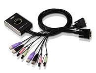 ATEN  CS682  2端口USB DVI KVM多电脑切换器;提供DVI功能、USB 2.0接口设备分享、及2.1重低音立体环绕音效, CS682带领Petite系列KVM产品在技术上又向前迈进了一大步。