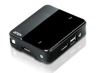 ATEN  CS782DP  2端口USB DisplayPort KVM多电脑切换器;支持4K UHD分辨率KVM多电脑切换器,采用符合先进DisplayPort规范的技术, 能够满足对高画质应用的多元市场需求与各种使用情境。