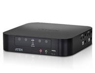 ATEN  CS1944  4端口USB 2.0 Mini DisplayPort双屏幕KVMP™多电脑切换器,可让用户通过单一USB键盘、USB鼠标及双屏幕控制端操作四台双屏幕电脑。