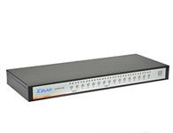 秦安-KinAn XM0116  16口自动USB切换器;可直接连接16台电脑主机。支持分辨率最高可达2048×1536。支持多种硬件平台和多种操作系统。支持键盘热键、OSD菜单、面板按键切换以及鼠标切换等多种切换方式。高度为1U,可直接安装在19英寸标准机柜内。