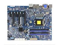 超微C7Z87-OCE    主芯片组: Intel Z87 CPU插槽: LGA 1150 显卡插槽: 3×PCI-E X16显卡插槽 3×PCI-E X1插槽 SATA接口: 6×SATA接口