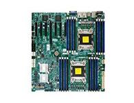 超微X9DRH-7F    主芯片组: Intel C602 CPU插槽: LGA 2011 显卡插槽: 1×PCI-E 3.0 x16 6×PCI-E 3.0 x8 SATA接口: 8个SATAII接