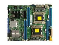 超微X9DRL-7F    主芯片组: Intel C602J CPU插槽: LGA 2011 显卡插槽: 1×PCI-E 2.0 x1 2×PCI-E 3.0 x8 1×PCI-E 2.0 x4(in x8) SATA接口: 4个SATAII接