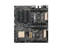 华硕Z10PE-D8-WS    主芯片组: Intel C612 CPU插槽: Socket 2011-3 显卡插槽: 7×PCI-E X16显卡插槽 SATA接口: 8×SATA III接口