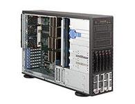 超微8046B-TRF    产品类别: 机架式 产品结构: 4U CPU型号: Xeon X7550 标配CPU数量: 2颗 内存类型: ECC DDR3 内存容量: 16GB 硬盘接口类型: SATA 标配硬盘容量: 1TB