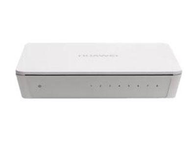 """华为S1700-8-AC    \""""产品类型: 快速以太网交换机 应用层级: 二层 背板带宽: 1.6Gbps 包转发率: 1.2Mpps 端口结构: 非模块化 电源电压: AC 100-240V,50/60Hz,交流供电 端口描述: 8个10/100Base-TX以太网端口 电源功率: <5W\"""""""