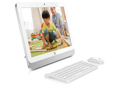"""惠普 HP24-G038CN  (I6100/23.8"""" FHD/8G/1T/GT920A 2G/DVDRW/802.11bgn/win 10/无线键鼠/Office2016/webcam/2-2-1/白色)"""