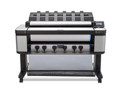 """HP Designjet T3500 生产型多功能一体机    """"1、一台高产能多功能一体机满足您的所有工作流程需求,速度最快---在21秒内打印出D/A1尺寸深黑色、中性灰色和鲜艳色彩的文档。 2、无人值守、使用成本低廉的生产型打印机,双卷筒可装200米厂的重磅纸,在无人值守的情况下自动运转。 3、专为严格的IT需求和安全要求而设计"""""""