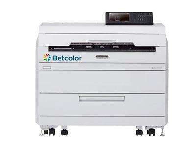 """Betcolor LP-1030-Blue 数码蓝图机    """"●低运营成本 A1/张与传统晒图方式成本相当,省去硫酸纸打印流程。 ●连续输出速度快 单台设备每天8小时工作可输出4000余张,。 ●低废品率    有效提高工作效率,降低使用成本。 ●绿色环保 低电耗、低功耗、低碳排放,墨粉环保无异味。"""""""
