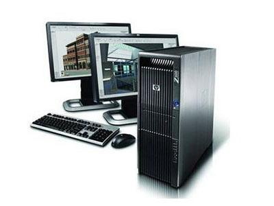 """惠普Z600工作站    """"采用正版 Windows,为您提供熟悉、直观的操作环境 • 精心设计,性能卓越: HP Z600 经过精心设计,可以将处理器、内存、显卡、操作系统和软件技术完美融合,进而提供更出色的系统计算能力。 • 全新时尚的工业设计: 拉丝铝材质、集成把手、视觉上无线缆设计以及更多出色功能使工作站噪音更低、维护性能和能源效率更高,开创了工作站全新标准。 • 以环保为本的设计理念: 符合能源之星® 标准的系统以及 85\% 高效电源可大幅降低功耗和散热成本;"""