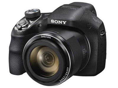 Sony/索尼 H400 数码相机   传感器:1/2.3英寸;有效像素:2010万;显示屏尺寸:3英寸;显示屏像素:46万像素液晶屏;连拍速度:支持;电池类型:锂电池;续航能力:约220张照片或2小时30分钟;
