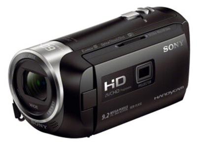 Sony/索尼 PJ410 数码摄像机   产品类型:高清摄像机;产品定位:家用摄像机;光学变焦:30倍;投影功能:支持;最低照明度:标准模式:6lux;存储介质:Micro SD/SDHC/SDXC存储卡;