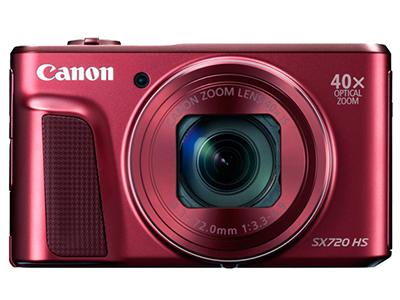 Canon/佳能 SX720 数码相机传感器:1/2.3英寸;有效像素:2030万;显示屏尺寸:3英寸;显示屏像素:92.2万像素液晶屏;连拍速度:支持;快门速度:15-1/3200s;电池类型:锂电池;续航能力:250张;