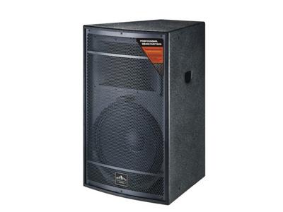 "美国尼迪 TH-112  模式Crossover Model:2音路全频2-way full range       额定功率Power Handling:280W      阻抗ominal Impedance:8ohms        频率响应Frequency Response:50Hz-19KHz     灵敏度Sensitivity:98dB         扩散角度Nominal Dispersion90×60   低音Low Frequency:12""×1 高音High Frequency: 1.3"