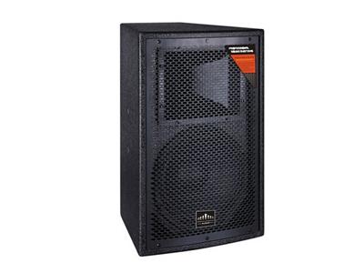 "美国尼迪 TH-110 模式Crossover Model:2音路全频2-way full range       额定功率Power Handling:200W      阻抗ominal Impedance:8ohms        频率响应Frequency Response:50Hz-18KHz     灵敏度Sensitivity:98dB         扩散角度Nominal Dispersion:90×60   低音Low Frequency:10""×1 高音High Frequency: 1.3"