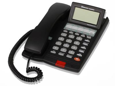 申瓯HCD999(1)TSD话机    FSK、DTMF双制式来电显示;24首风格多样的铃声和1首贵宾铃声;去电:最大16组8位,内部进行动态存储,最长可存储32位;来电:最大62组8位; 9组32位单键记忆、10组16位双键记忆; 1组32位手动 IP、1组32位自动 IP;来电号码在查询时可设置为VIP功能,防删除,来电响的贵宾铃声