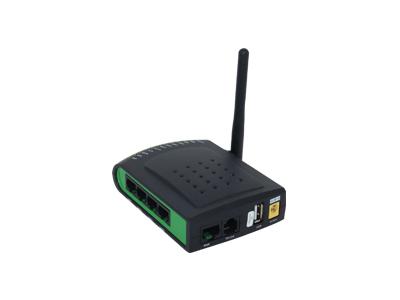 2 4GHz单天线1FXS口迷你VoIP无线路由器  G201N4  是VOIP通讯和网络共享整合等日常应用的理想选择。G201N4不仅提供优质语音通讯,有线网络共享,也在日常无线沟通中提供接入点(AP)功能。配备高级路由器,G201N4可以通过SIP代理进行语音通话,还具有IP共享及QoS机制。