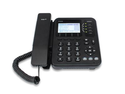 4线路无线桌面IP电话  IP542N  是一款理想的桌面型商用无线IP电话。具有4条线路和4个动态软键,支持802.3af PoE,优质扬声器,无线(802.11g)客户端和2.5mm耳机端口。每条线路可以配置为独立的电话号码或复合电话的共享号码。在无特殊限制的情况下IP542N可连接无线网络。