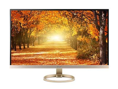 "Acer H277HU kmidx    ""产品类型: LED显示器,广视角显示器 产品定位: 大众实用 屏幕尺寸: 27英寸 面板类型: IPS 最佳分辨率: 1920x1080 可视角度: 178/178° 视频接口: D-Sub(VGA),DVI,HDMI 1.4 底座功能: 倾斜:-5-15°"""