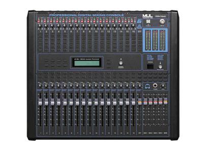 MUL音响妙朗音响DGM1640数字调音台郑州专业音响河南专业音响郑州专业音箱
