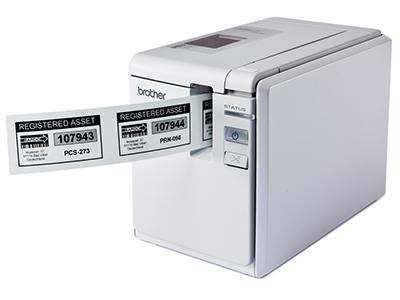 兄弟 PT-9700PC     电脑标签打印机,打固定资产专用;耗材宽度:3.5—36mm;自动剪切/连续半切